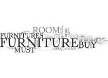 Find Great Furnitures For Your Home Word Cloud Concept. Find Great Furnitures For Your Home Text Background Word Cloud Concept Stock Images