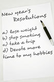Find a hobby. New year resolution find a hobby Stock Image