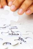 Find idea concept Royalty Free Stock Photos