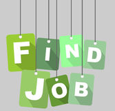Find job  background Royalty Free Stock Photo
