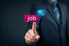 Find job concept Royalty Free Stock Photos