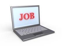 Find job online Stock Photo