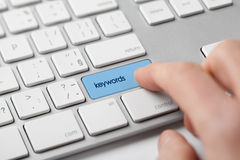 Find keywords Stock Image