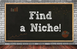 Find a Niche! Royalty Free Stock Images