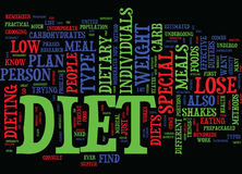 Find Out Which Special Diet Will Work For You Text Background Word Cloud Concept Stock Image