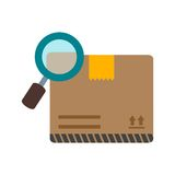Find Package. Find, package, logistics icon vector image. Can also be used for logistics. Suitable for mobile apps, web apps and print media Stock Photo