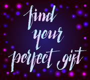 Find perfect gift Stock Photo