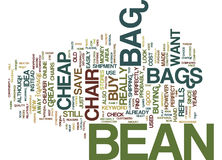 Find That Perfectly Cheap Bean Bag Chair Word Cloud Concept. Find That Perfectly Cheap Bean Bag Chair Text Background Word Cloud Concept Stock Photos