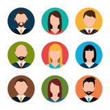Find person for job opportunity design Royalty Free Stock Photography