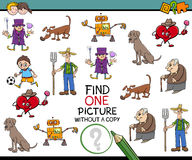 Find picture activity for kids Stock Images