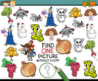 Find single picture game cartoon Stock Photo