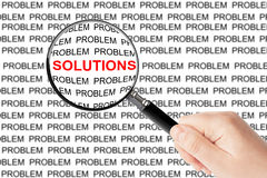 Find Solutions Royalty Free Stock Photo