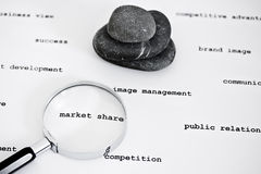 Find success in the business world Stock Photography