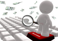 Find success on the internet icon symbol Stock Image