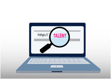Find talent vector Stock Photography