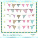 Find two identical pictures. Vector Flags Stock Photos
