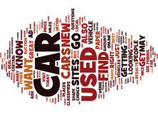 Find A Used Car Text Background Word Cloud Concept Royalty Free Stock Image