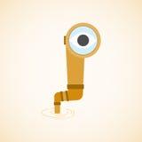 Find vision. Concapt of find vision. Vector illustration Royalty Free Stock Images