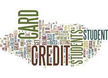 Find Your Best Student Credit Cards Word Cloud Concept. Find Your Best Student Credit Cards Text Background Word Cloud Concept Royalty Free Stock Photography