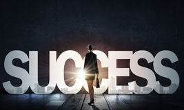 Find your business motivation . Mixed media Royalty Free Stock Images