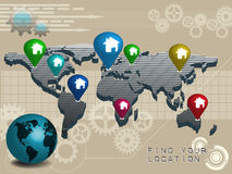 Find your location Stock Images