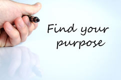 Find your purpose concept Royalty Free Stock Photography