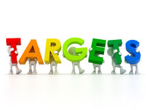 Find your targets Stock Image