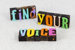 Free Find Your Voice Share Music Speak Communication Leadership Stock Photos - 164260923
