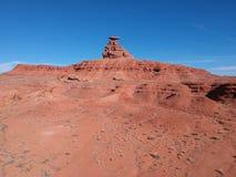 Finden der Straße zur Erforschung, Wüste im Westen von USA lizenzfreie stockbilder
