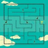 Finden des Weges zum Erfolg Stockfoto