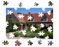 Finden eines Hauses lizenzfreie abbildung