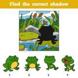 Finden Sie den korrekten Schatten Entdeckungstier durch Schatten