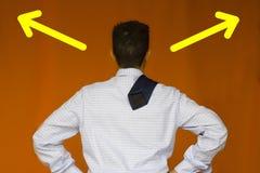 Finden Sie die Lösung Lizenzfreie Stockfotos