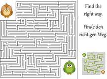 Finden Sie die rechte Methode stock abbildung