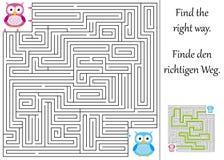 Finden Sie die rechte Methode lizenzfreie abbildung