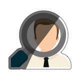 Finden Sie ein Jobkonzept lizenzfreie abbildung