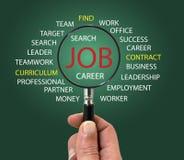 Finden Sie einen Job Lizenzfreie Stockbilder