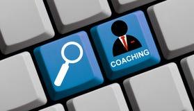 Finden Sie online trainieren Lizenzfreies Stockbild