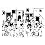 findencentmynt Stock Illustrationer