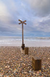 Findhorn beach Royalty Free Stock Image