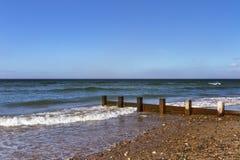 Findhorn vågor. royaltyfri foto