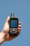 Finding the best GPS signal Stock Images