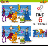 Finding differences game Stock Photography