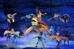 Finding Nemo Play at Disney World stock photos
