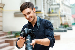 Finding the right shoot. Royalty Free Stock Images