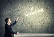 Finding solution Stock Photos