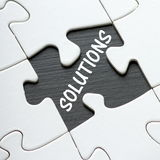 Finding Solutions Royalty Free Stock Photo