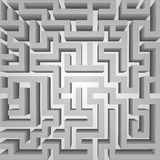 Finding way labyrinth concept vector structure Stock Images