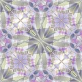 Fine abstract decorative tile in retro style in pastel colors Stock Photos