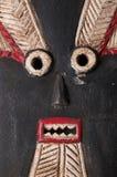 Fine africana della maschera su Fotografia Stock